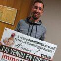 Christophe et sa femme ont économisés 10 000 €* de commission d'agence