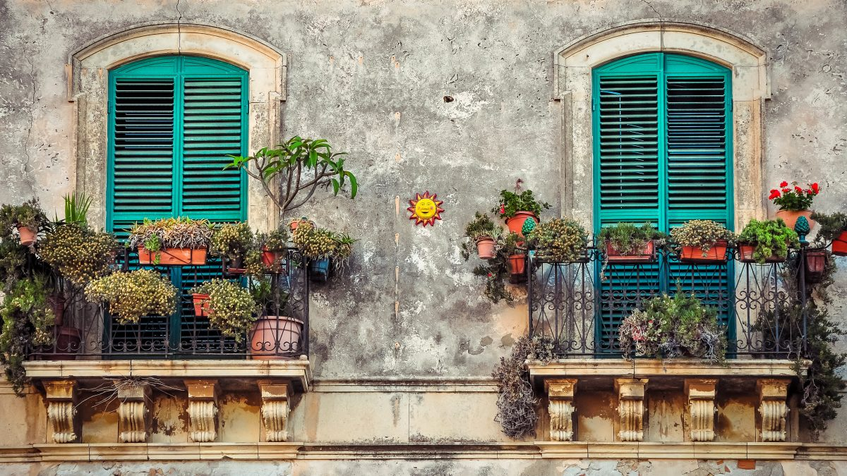 balcony, cuba, house
